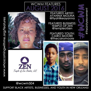 wcwm features aug 2016
