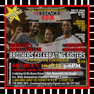 ENOW brothers celebrating sisters 101815 flyer