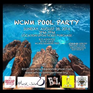 WCWM POOL PARTY BLK TRIM